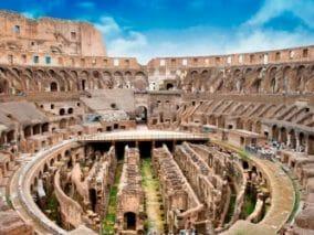 In cima al Colosseo per raccontare l'Italiabella