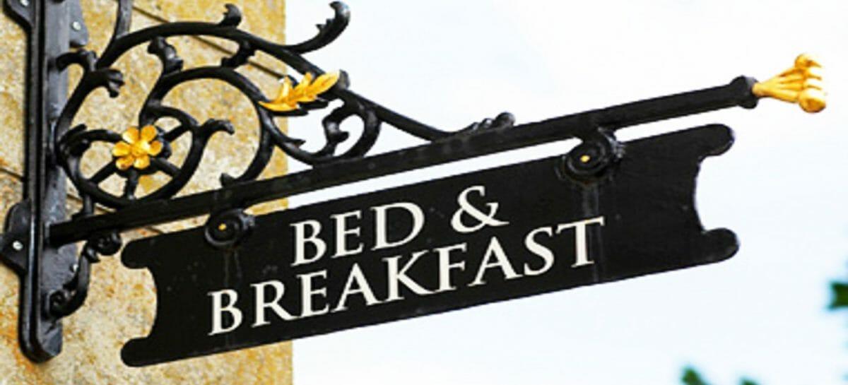 Bed & Breakfast, le presenze in Italia  crollano al -95%