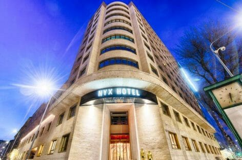 Nyx Hotel, a Milano la prima apertura italiana