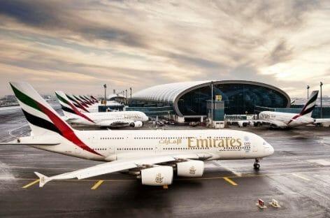 Emirates, tre nuove destinazioni con l'A380