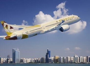 Etihad Airways, promo per il 10° anniversario in Italia