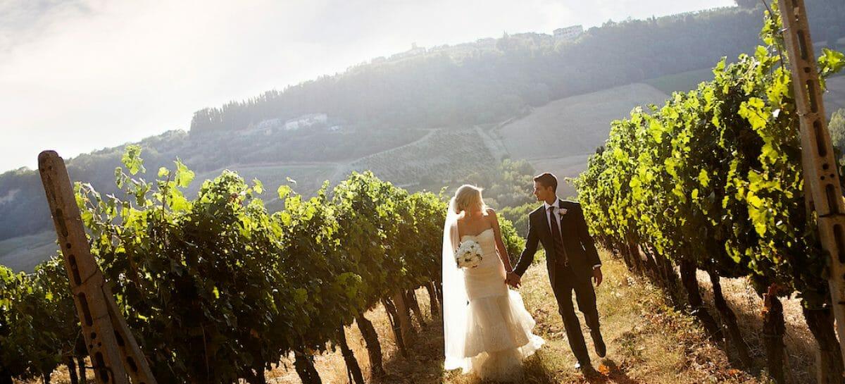 Wedding tourism, la Toscana è la prima destination italiana