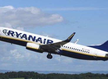 Ryanair torna a Rimini: tre rotte da marzo 2018