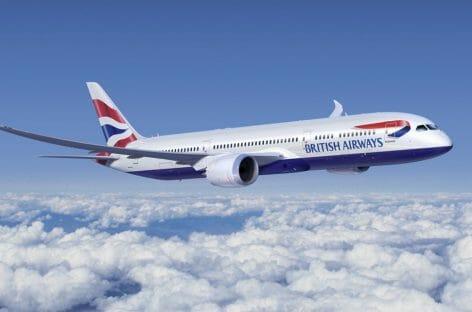 British Airways, più voli tra Londra e Usa grazie alle riaperture