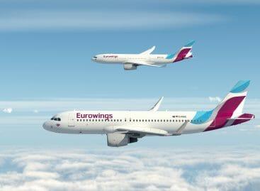 I saldi di Eurowings, a gennaio biglietti al -25%