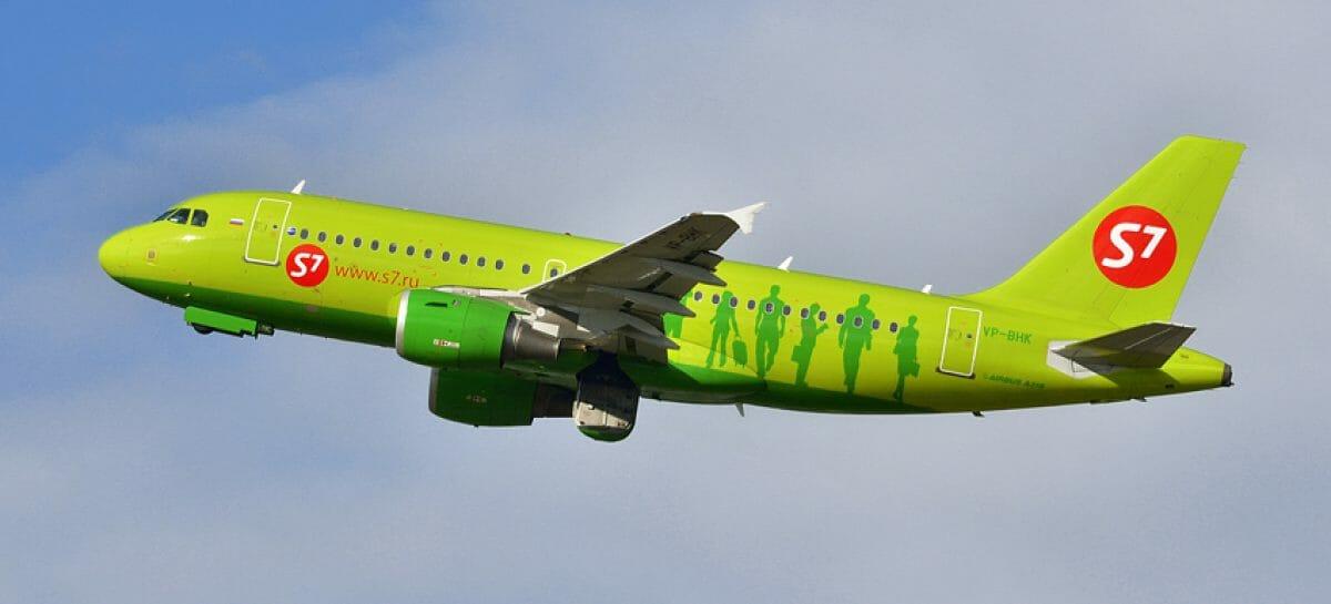 S7 Airlines riprende a marzo la rotta Pisa-Mosca