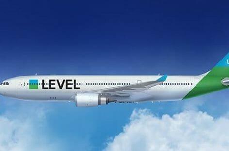Level promossa a compagnia aerea, terza base a Vienna