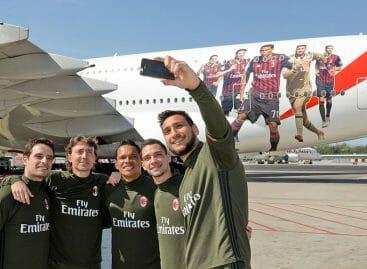 Emirates, l'A380 adesso è dedicato al Milan