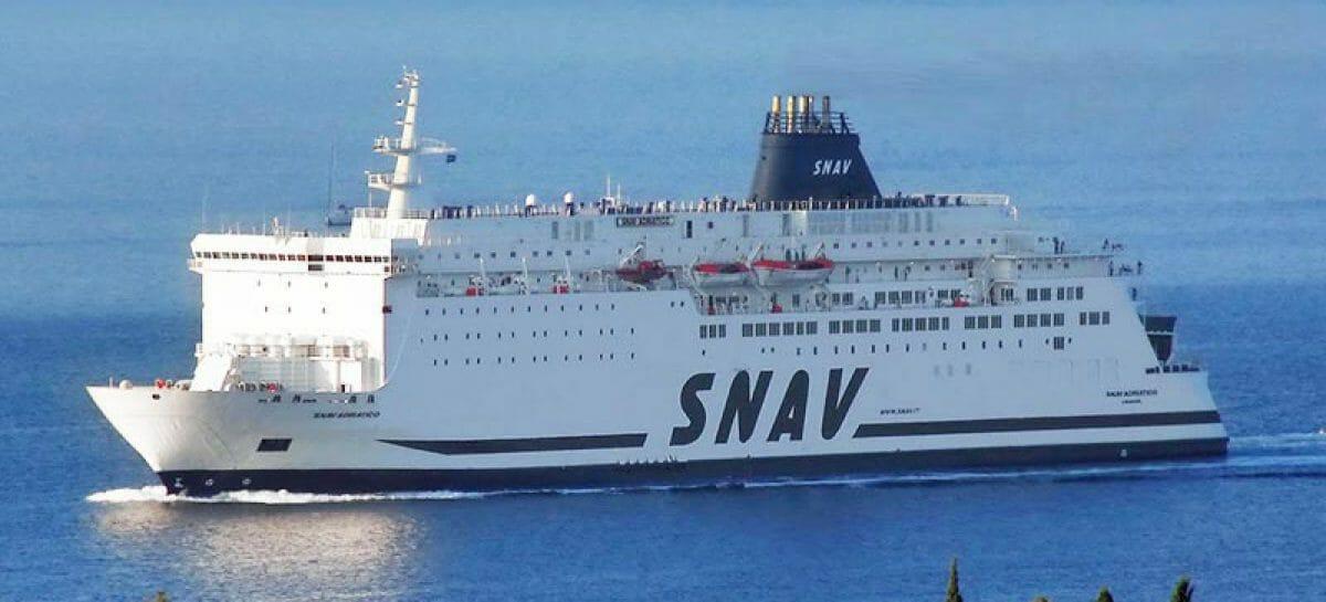 Snav riattiva i collegamenti tra Napoli e le Isole Pontine