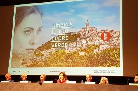 Manfredi e Timi per promuovere l'Umbria