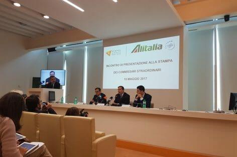 Alitalia, il piano d'azione dei commissari