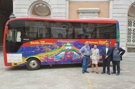 City Sightseeing, shuttle bus per croceristi da Napoli alla Reggia di Caserta