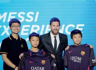 Messi Experience Park per i tifosi cinesi
