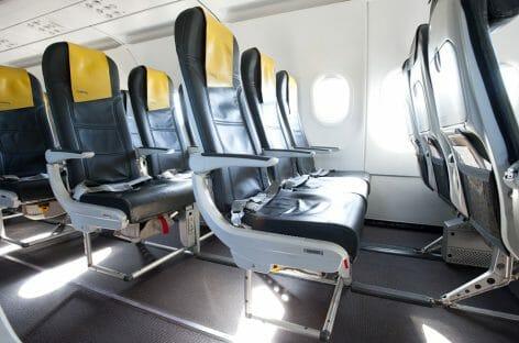 Vueling, più spazio per i passeggeri con gli Slim Seat