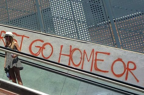 """La pericolosa tentazione di dire """"Go Home"""""""