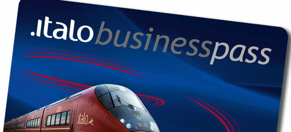Italo lancia il Business Pass per le piccole e medie imprese
