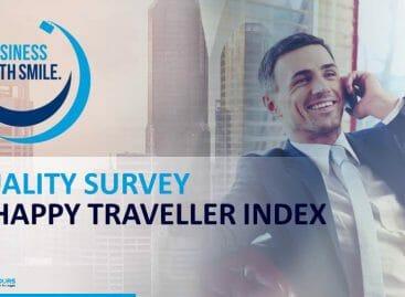 Cisalpina monitora i viaggi d'affari con Happy Traveller Index