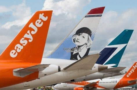 Offensiva easyJet sul lungo raggio:<br> voli in connessione con Norwegian e WestJet
