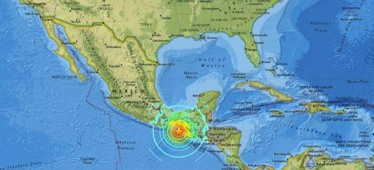 Terremoto di magnitudo 8.2 in Messico<br> mentre continua l'avanzata di Irma
