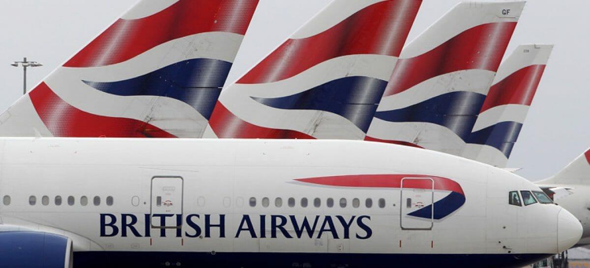 British Airways, cassa integrazione per 36mila dipendenti