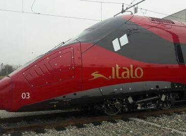 Corsa di Italo con il pendolino Evo: <br>in arrivo due nuove tratte AV