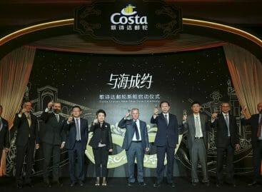 Costa Venezia, pronta nel 2019 la nave per il mercato cinese