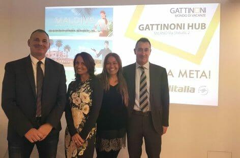 Gattinoni e Alitalia presentano le novità della winter a Milano