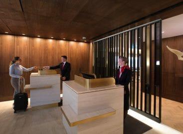 Stile australiano con tocco british: lounge Qantas a Heathrow