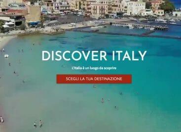 È online Discover Italy, l'incoming di Alitalia