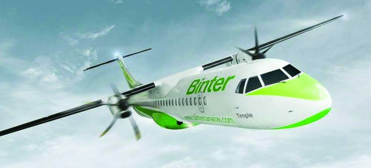 Tre nuove rotte per Binter Canarias