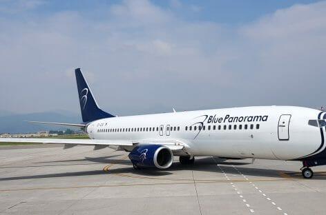 Blue Panorama cancella tutti i voli per la Grecia