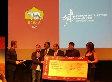 Vinci l'Egitto con l'As Roma: El Shaarawy premia i vincitori