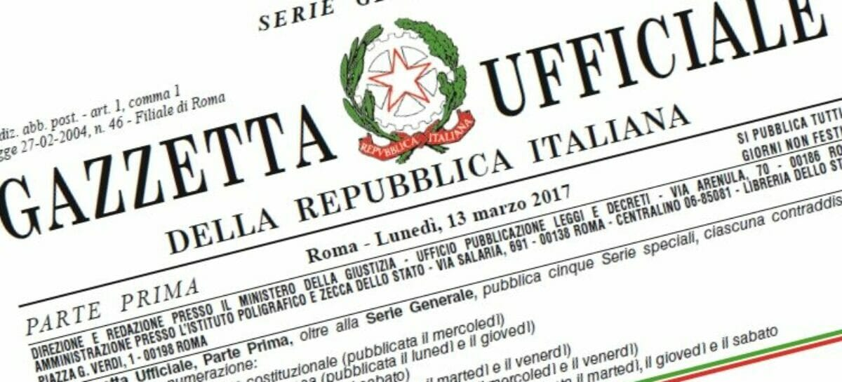La direttiva pacchetti pubblicata in Gazzetta ufficiale