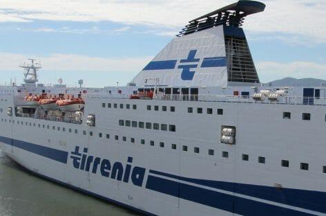 Tirrenia ferma i traghetti Cagliari-Civitavecchia