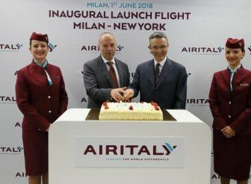 Air Italy, decolla l'hub Malpensa<br> con il volo per New York