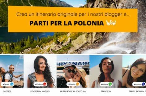 #PoloniaWoW, operazione social per proposte di viaggio inedite