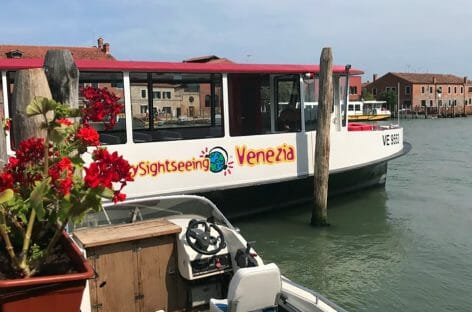 City Sightseeing Venezia, nuovi battelli e tour per le isole minori
