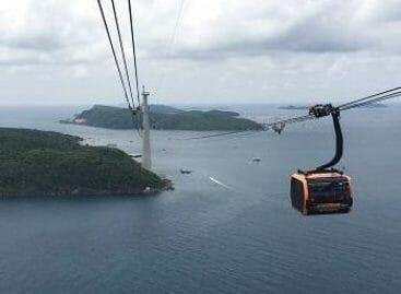 Vietnam, sull'isola di Phu Quoc la funivia più lunga del mondo