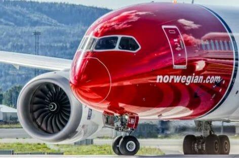 Norwegian Air rimanda la ripresa: perdite a 160 milioni