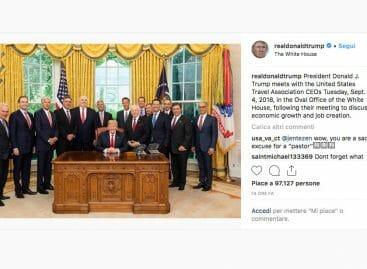 Il travel Usa alla Casa Bianca: faccia a faccia con Trump