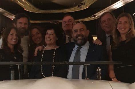 Gattinoni e Alitalia portano i clienti business a cena con Cracco
