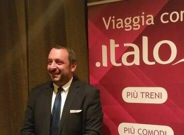 Italo, De Angelis: «Treni in arrivo e più rotte dal 2019»