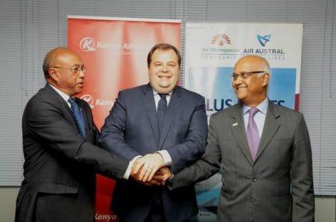 Air Madagascar si allea con Air Austral e Kenya Airways