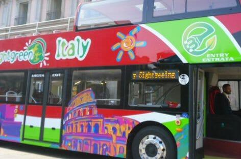 City Sightseeing, a Milano il primo bus elettrico a due piani