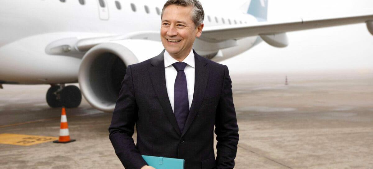 Air Dolomiti, il ceo Joerg Eberhart torna nel Gruppo Lufthansa
