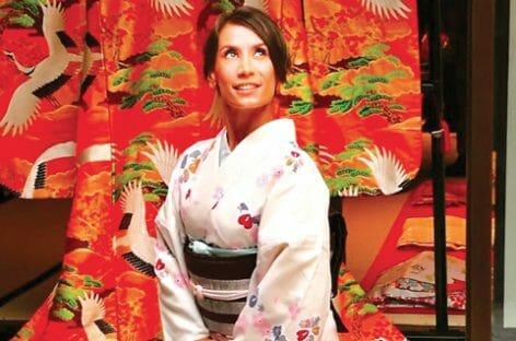 Il rito del kimono inseguendo la Golden Route