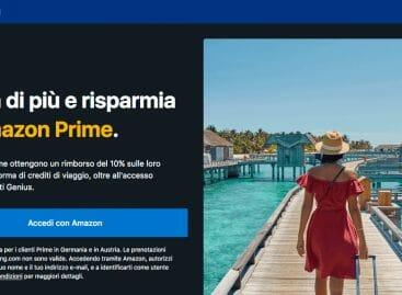 Amazon ci riprova con il travel, accordo con Booking