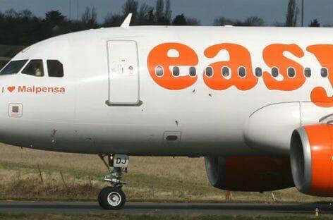 easyJet ripristina il volo bisettimanale tra Napoli e Tel Aviv