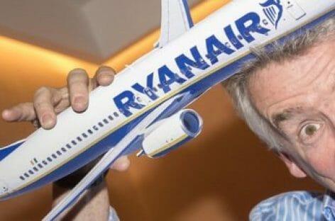 C'era una volta il pesce d'aprile di Ryanair