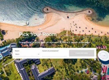 Club Med sempre più digital con il servizio Pick Your Room